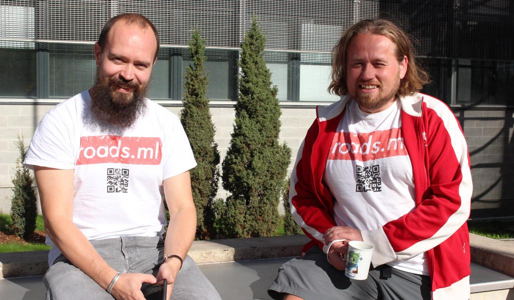 Jussi-Pekka Martikainen ja Antti Mattila