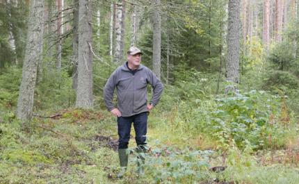 Metsänomistaja ja metsästäjät sopivat metsästysoikeudesta vuokrasopimuksella
