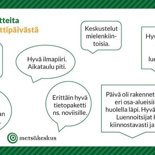 @metsakeskus: Oletko osallistunut Metsään-starttipäivään? Jos et - ja jos kaipaat hyvää starttia metsänomistuksellesi, niin nyt on tilaisuutesi!  Metsään-starttipäivän aikana tutustutaann metsänomistamisen ja metsänhoidon perusasioihin yhdessä toisten metsänomistajien kanssa.  Starttipäiviä järjestetään 25.1. Helsingissä (ilm. viim. 21.1.) sekä 1.2. Joensuussa, Jyväskylässä, Kemissä, Kuopiossa, Lappeenrannassa, Loimaalla, Oulussa ja Tampereella.  Oman paikkakuntasi lisätiedot ja ilmoittautumislomakkeen löydät Metsäkeskuksen tapahtumakalenterista (metsakeskus.fi/tapahtumat) hakusanalla: starttipäivä 👌🌲 #metsä #metsänhoito #metsänomistaja #metsäänstarttipäivä