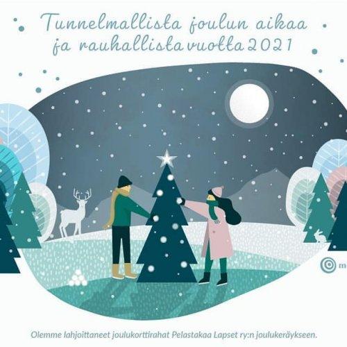 🎄 Metsäkeskuksen väki toivottaa kaikille hyvää joulua. Vi på Skogscentralen önskar er alla en god jul! 🎄
