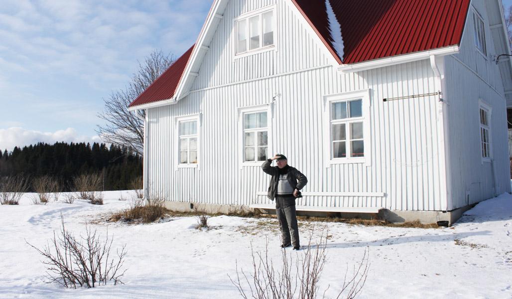 Timo Nissinen hoitaa neljän eri metsäyhtymän asioita